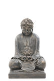 Asiatischer Buddha getrennt auf weißem Hintergrund Lizenzfreie Stockbilder