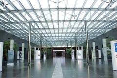 Asiatischer Chinese, Peking, Gewerkschaftsbund für die Performing Arten, moderne Architektur Lizenzfreies Stockfoto