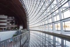 Asiatischer Chinese, Peking, Gewerkschaftsbund für die Performing Arten, moderne Architektur Lizenzfreie Stockfotografie