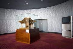 Asiatischer Chinese, Peking, Gewerkschaftsbund für die Performing Arten, moderne Architektur Stockbilder