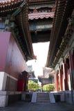 Asiatischer Chinese, Peking, historische Gebäude, Lama Temple Stockfoto