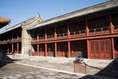 Asiatischer Chinese, Peking, historische Gebäude, Lama Temple Stockfotografie