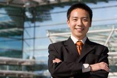 Asiatischer chinesischer Geschäftsmann Stockbild