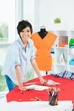 Asiatischer Designer lizenzfreies stockfoto