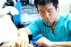 Asiatischer Doktor Stockfotografie