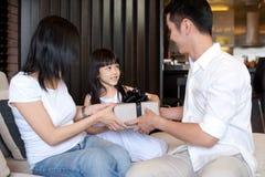 Asiatischer Familien-Lebensstil Lizenzfreie Stockfotografie