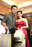 Asiatischer Familienlebensstil Lizenzfreies Stockfoto