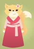 Asiatischer Fuchs Lizenzfreie Stockfotos