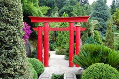 Asiatischer Garten Lizenzfreie Stockfotos