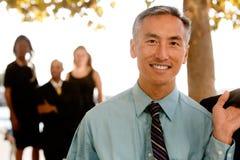 Asiatischer Geschäftsmann Stockbild