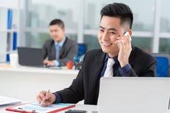 Asiatischer Geschäftsmann Stockfoto