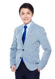 Asiatischer Geschäftsmann Lizenzfreies Stockfoto