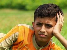 Asiatischer/indischer Junge   stockfotos