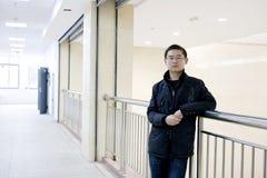 Asiatischer junger Mann Lizenzfreies Stockbild