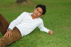 Asiatischer junger Mann Lizenzfreie Stockfotos