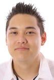 Asiatischer Kerl Headshot Stockfotografie