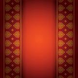 Asiatischer Kunsthintergrund für Abdeckungsdesign. Lizenzfreie Abbildung