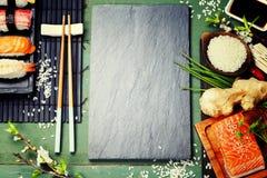 Asiatischer Lebensmittelhintergrund stockfotos