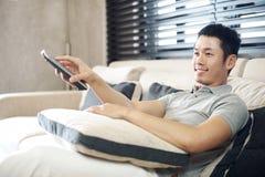 Asiatischer Mann-Lebensstil Stockfotos