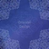 Asiatischer orientalischer Aquarell-Hintergrund Lizenzfreie Stockfotografie