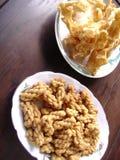 Asiatischer populärer Snack Stockfoto