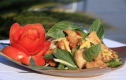 Asiatischer Salat Stockfotografie