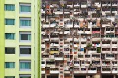 Asiatischer Stadtstraßenhintergrund Lizenzfreie Stockfotografie