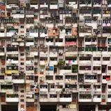 Asiatischer Stadtstraßenhintergrund Lizenzfreie Stockbilder