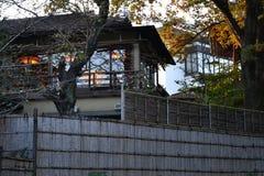 Asiatisches Artgebäude Stockbild