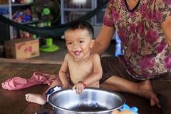 Asiatisches Baby Stockbilder
