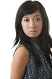 Asiatisches entzückendes Gesicht lizenzfreie stockbilder