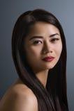 Asiatisches Frauen-Portrait Stockbilder