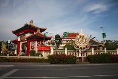 Asiatisches Gebäude Stockbild