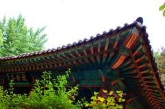 Asiatisches Gebäudedetail lizenzfreies stockfoto