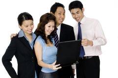 Asiatisches Geschäft Lizenzfreies Stockfoto