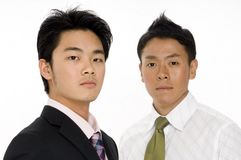 Asiatisches Geschäft stockbild