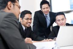 Asiatisches Geschäfts-Team Stockbild