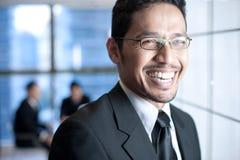 Asiatisches Geschäfts-Team Stockfotografie