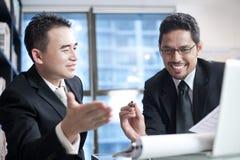 Asiatisches Geschäfts-Team Lizenzfreie Stockfotografie