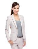 Asiatisches Geschäftsfrauportrait Lizenzfreie Stockfotografie