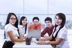 Asiatisches Geschäftstreffen Lizenzfreies Stockbild