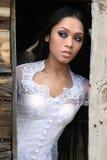 Asiatisches indonesisches Mädchen Stockfotos