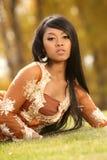 Asiatisches indonesisches Mädchen Stockfoto
