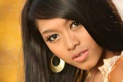 Asiatisches indonesisches Mädchen Stockbilder