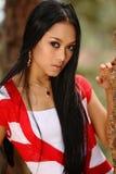 Asiatisches Mädchen Stockfotos
