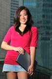Asiatisches Mädchen 5 Lizenzfreies Stockfoto