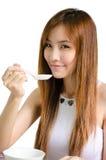 Asiatisches nettes Mädchen stockbilder