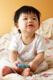 Asiatisches Schätzchen Lizenzfreies Stockfoto