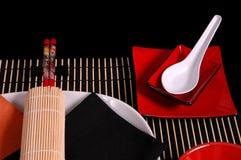 Asiatisches tablescape 1 Lizenzfreie Stockbilder