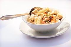 Asiatisches traditionelles Lebensmittel auf Tabelle Lizenzfreie Stockfotografie